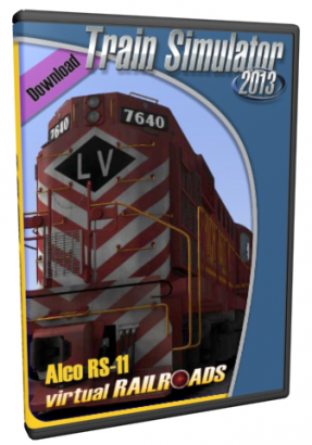 vR Alco RS-11 Lehigh Valley