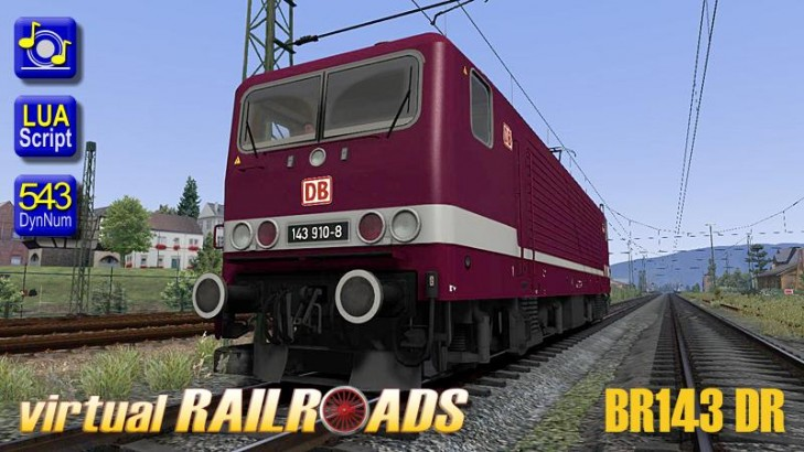 Baureihe 143 DR