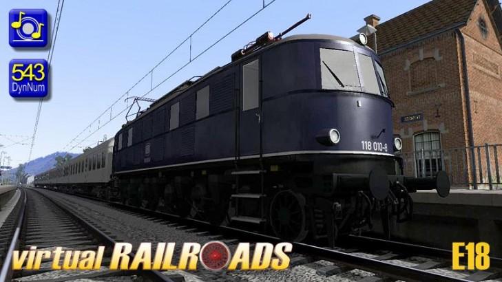 Baureihe 118 / E18 blau
