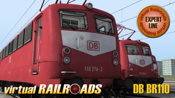 DB BR110 EL Orientrot