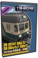 DB BDnrzf / BR141 EL Blau-Beige