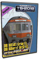DB BDnrzf / BR141 EL Orange-Silber