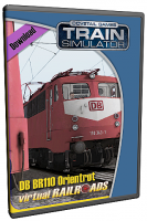 DB BR110 EL Bügelfalte Orientrot
