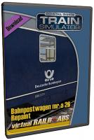 mr-a 26 Bahnpostwagen Repaint Blau