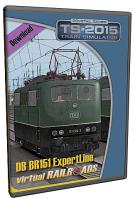 DB BR151 EL Altgrün