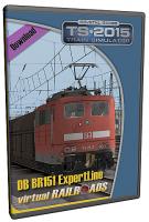 DB BR151 EL Verkehrsrot + Faals 150 + Us 996