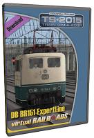 DB BR151 EL Blau-Beige