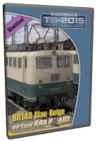 DB BR140 EL Blau-Beige