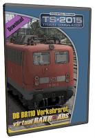 DB BR110 EL Verkehrsrot