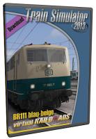 Baureihe 111 blau-beige EL