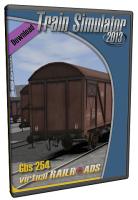 Gbs 254 gedeckter Güterwagen