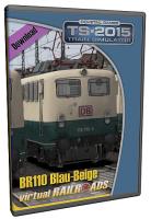 DB BR110 EL Blau-Beige
