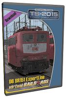 DB BR151 EL Orientrot + Sahimms 901