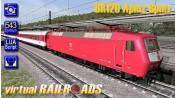 InterCity Baureihe 120 Eurofima Bundle orientrot