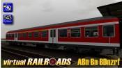 Silberling Nahverkehrswagen ABn BDnrzf verkehrsrot
