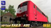 Baureihe 151 DB orientrot