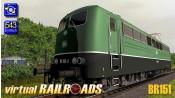 Baureihe 151 DB altgrün