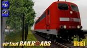 Baureihe 151 DB verkehrsrot
