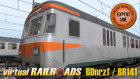 DB BDnrzf / BR141 EL Orange-Silber