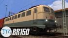 BR150 Blau-Beige Aufgabenpaket